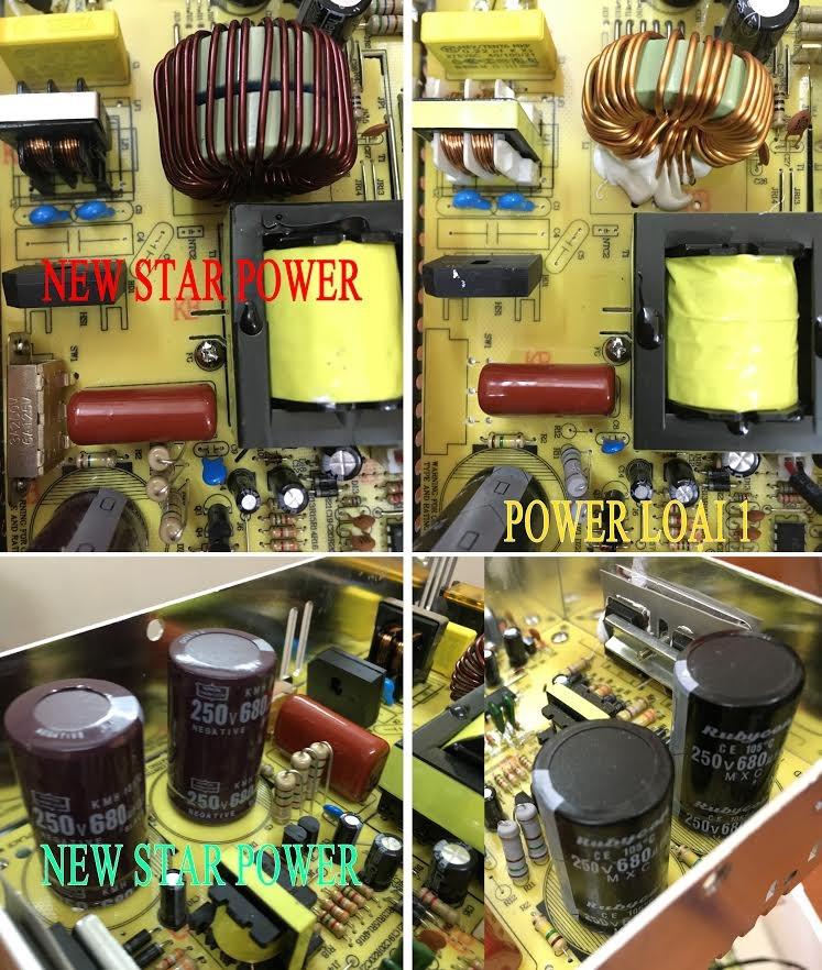 Nguồn led có quạt newstar chất lượng, giá tốt