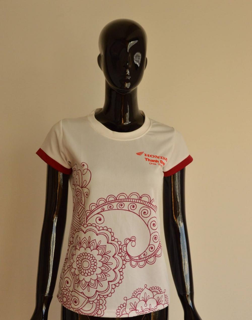 Mẫu áo cá sấu nữ đẹp - Xưởng may áo thun TPHCM 1
