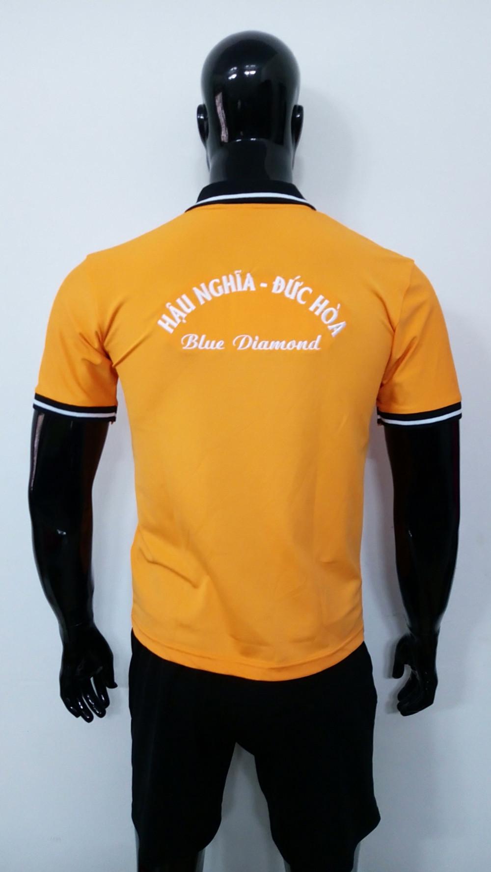 Mẫu áo thun cá sấu màu cam - Đặt may áo thun số lượng ít từ 20 áo/mẫu 1