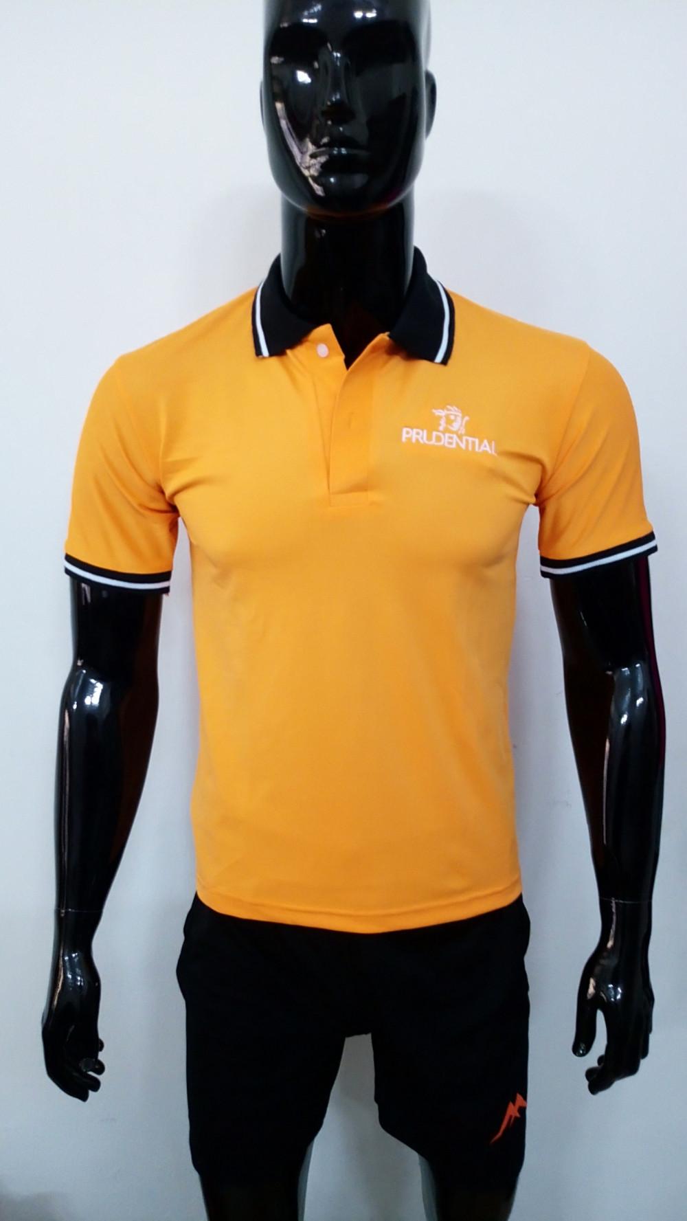 Mẫu áo thun cá sấu màu cam - Đặt may áo thun số lượng ít từ 20 áo/mẫu 3