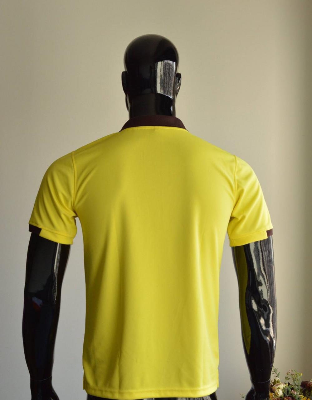 Mẫu áo thun cá sấu màu vàng dành cho nam 3