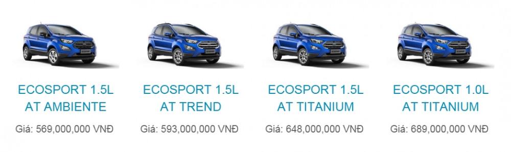 Mua bán xe Ford EcoSport 2018