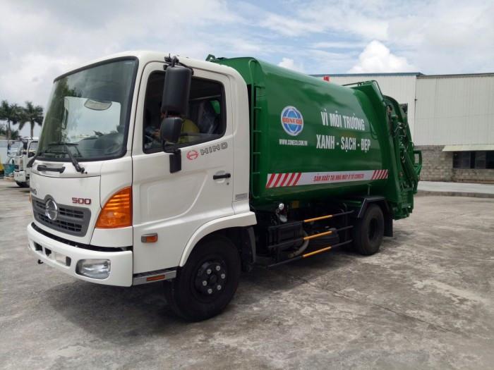 Giá xe ép rác Hino(2)
