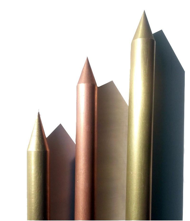 Kinh doanh cọc tiếp địa, cọc mạ đồng, cọc đồng đỏ, cọc đồng vàng chất lượng, giá rẻ