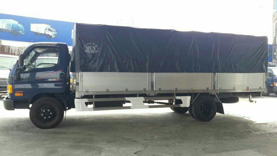 Thủ tục mua bán xe tải Hyundai 8 tấn HD120SL trả góp cần nắm