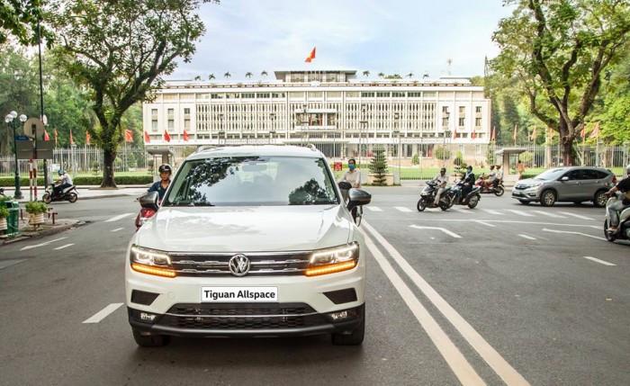 Mua trả góp Volkswagen Tiguan tại TPHCM