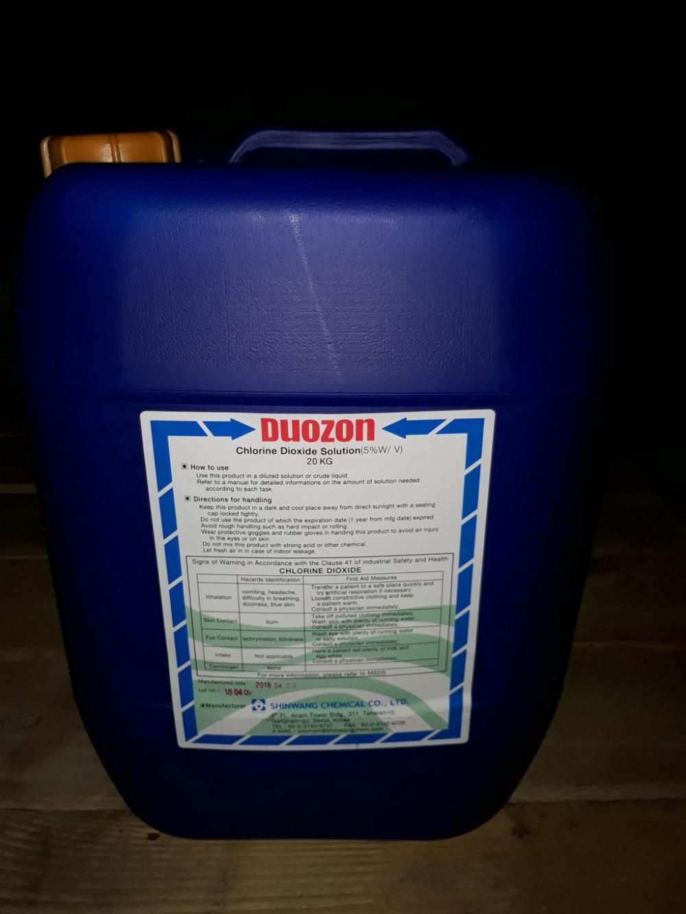 Mua chất tẩy rửa, khử trùng Clo Dioxit tại TPHCM