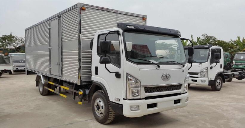 Mua xe tải thùng dài 6m: những lý do nên chọn xe tải Faw 7t3 máy Hyundai