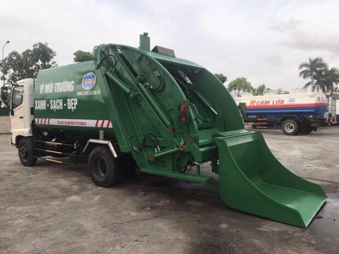 Tìm hiểu thông số kỹ thuật xe ép rác Hino(2)