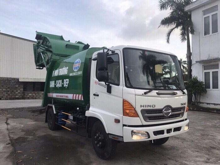 Tìm hiểu thông số kỹ thuật xe ép rác Hino(3)
