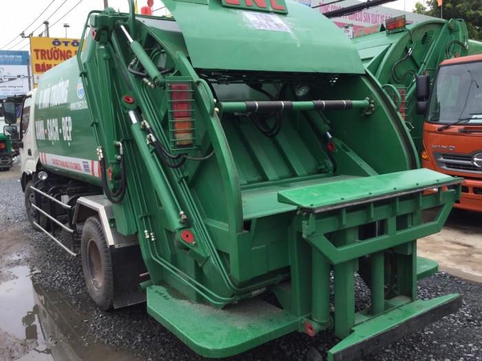 Tìm hiểu thông số kỹ thuật xe ép rác Hino(5)