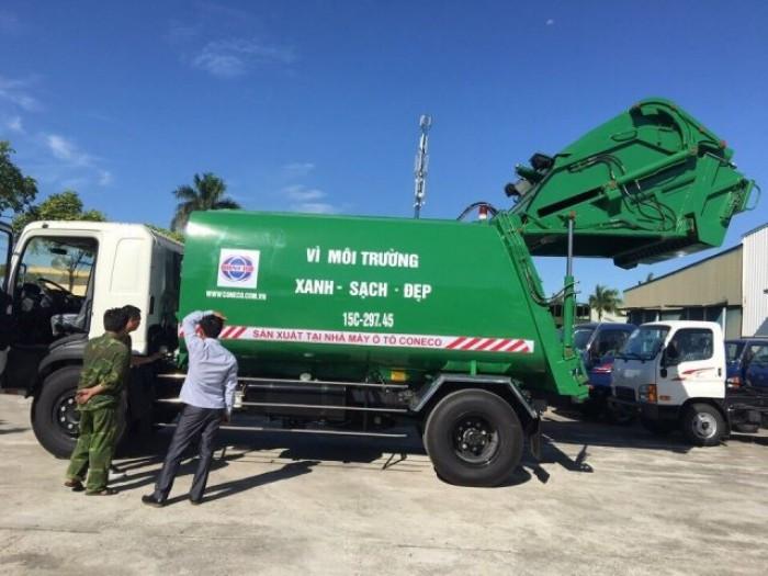 Tìm hiểu thông số kỹ thuật xe ép rác Hino(6)