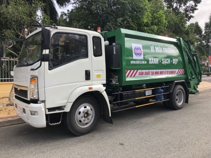 Giá xe ép rác Isuzu(2)