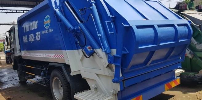 Tìm hiểu thông số kỹ thuật xe ép rác Isuzu(2)