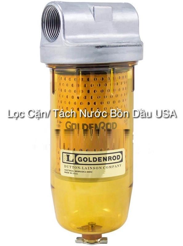 Lọc tách nước và cặn cho bồn dầu Diesel, đầu đốt Diesel