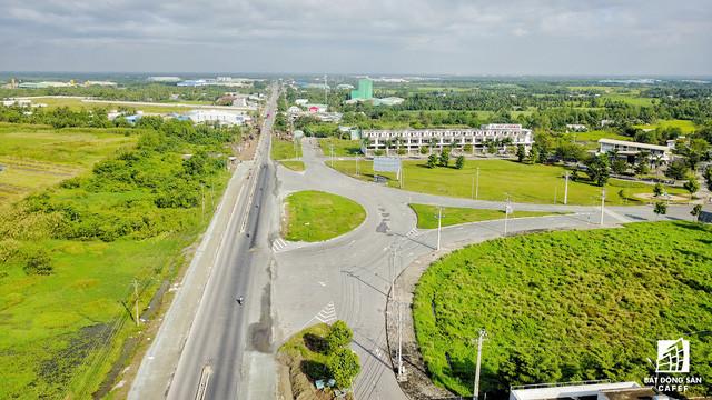 Tuyến cao tốc TP.HCM - Trung Lương có điểm kết nối với tỉnh Long An ngay đường ĐT830.