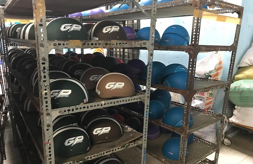 Cách thức đặt mua nón bảo hiểm quảng cáo số lượng lớn