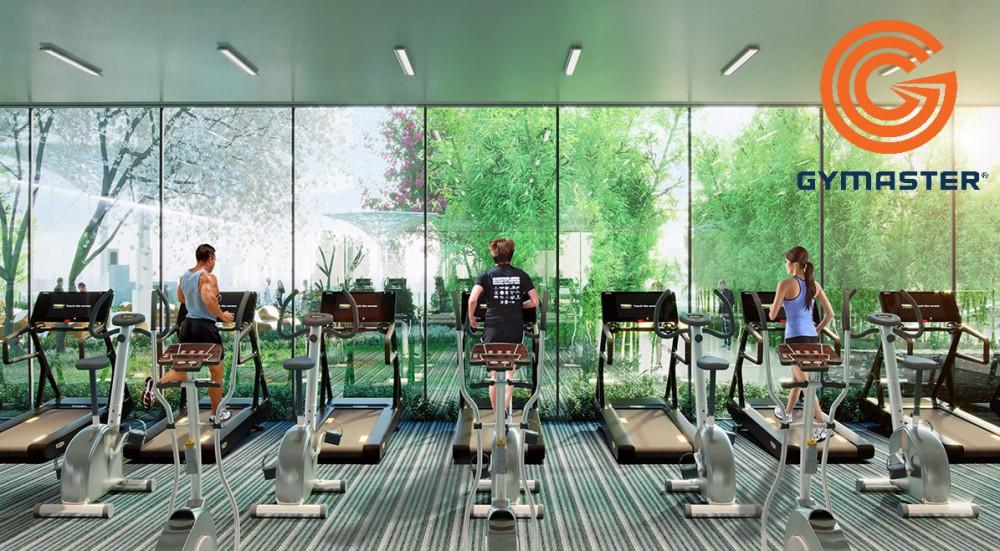 Xu hướng thiết kế phòng gym không gian xanh