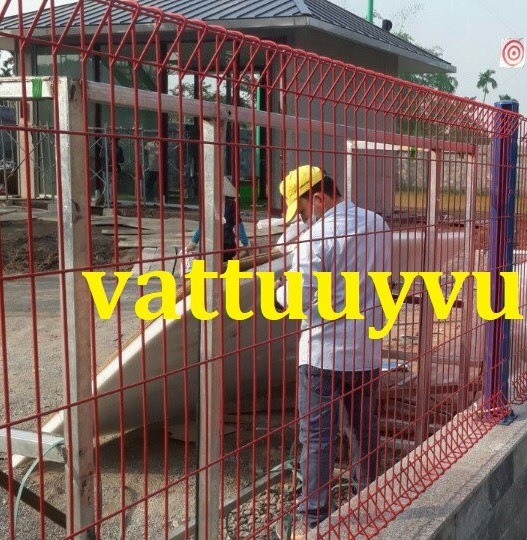 Hàng rào lưới thép và ưu điểm của hàng rào lưới thép