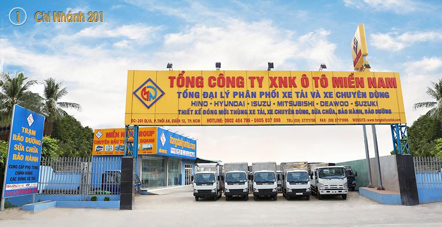 Tổng Đại Lý Xe Tải Miền Nam - Địa điểm chọn mua xe tải tốt nhất