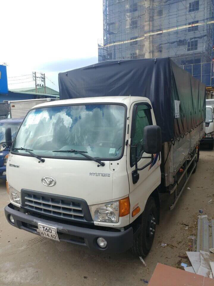 Giới thiệu xe tải Hyundai HD800 8 tấn
