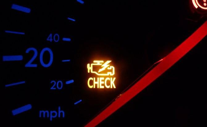 Đèn cảnh báo kiểm tra lỗi động cơ