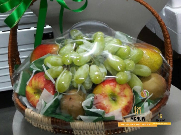 Giỏ trái cây quà tặng vợ ngày 20 tháng 10
