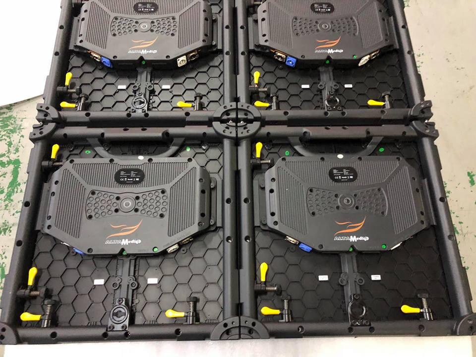 Màn hình Led Âu Lạc (Alta Media) nhập mới module Led P3 outdoor