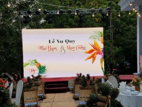 Cho thuê màn hình Led P3 outdoor lễ vu quy tại Đồng Nai - Màn hình Led Âu Lạc (Alta Media)