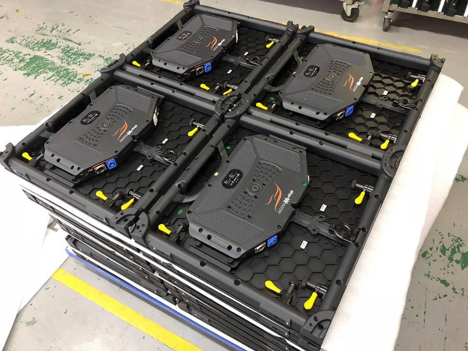 Các tấm Module Led P3 outdoor nhập khẩu trực tiếp từ nước ngoài bởi Màn hình Led Âu Lạc (Alta Media)