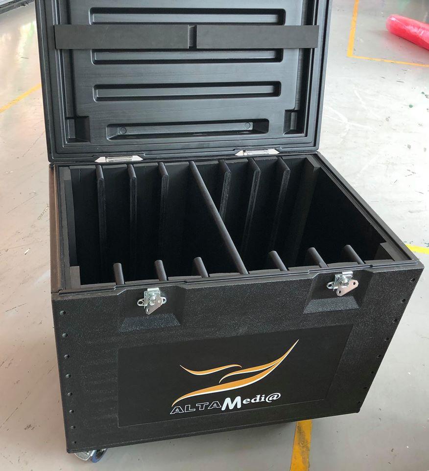 Thùng nhựa đựng Module Led P3 outdoor