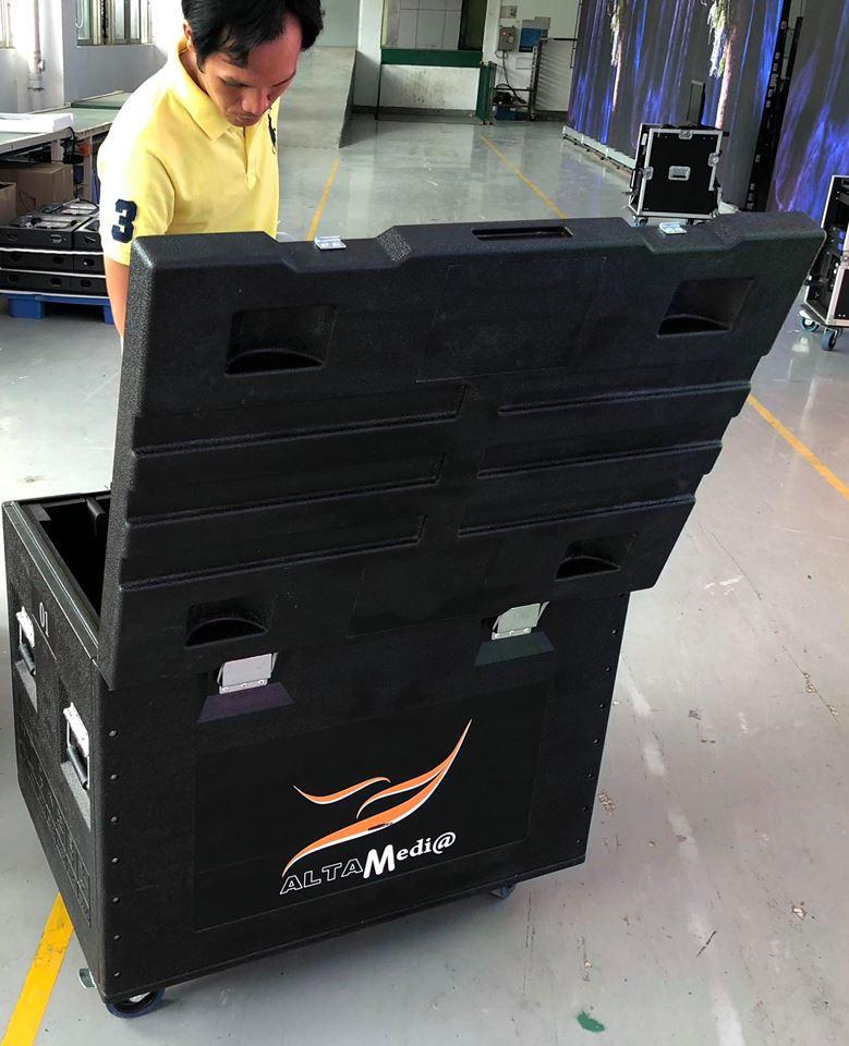 Hình ảnh Module màn hình Led P3 outdoor nhập khẩu trực tiếp bởi Màn hình Led Âu Lạc (Alta Media)