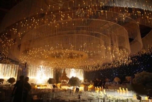 Sự kiện đám cưới người mẫu Lan Khuê và Tuấn John được sử dụng màn hình Led P3