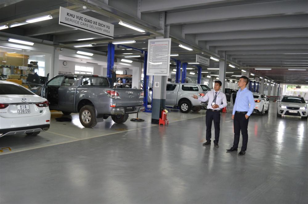 Giới thiệu Showroom Mazda Bình Dương(2)