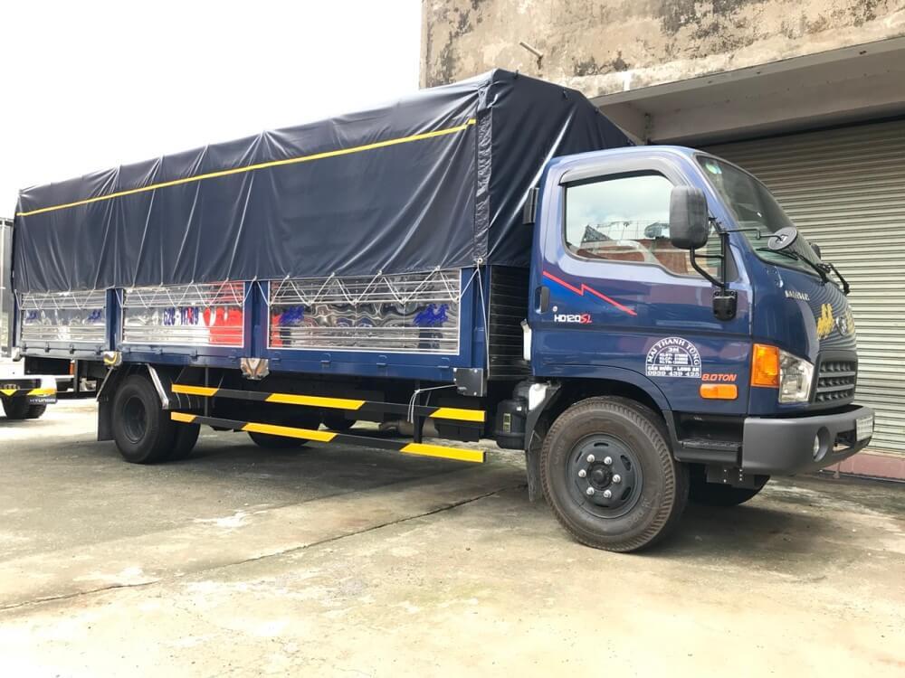 Ngoại thất xe tải Hyundai 8 tấn HD120sl