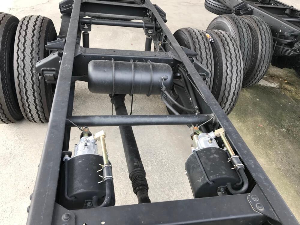 Hệ thống chassis khung gầm xe tải Hyundai 8 tấn HD120sl