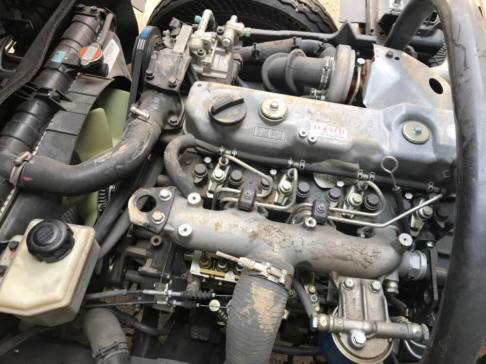 Trang bị động cơ xe tải Hyundai 8 tấn HD120sl
