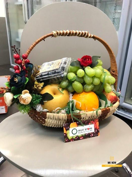 Giỏ trái cây quà tặng vợ sinh nhật ý nghĩa 1