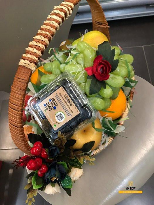 Giỏ trái cây quà tặng vợ sinh nhật ý nghĩa 3