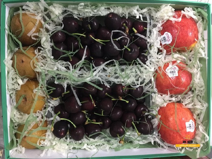 Giỏ trái cây quà tặng vợ sinh nhật ý nghĩa