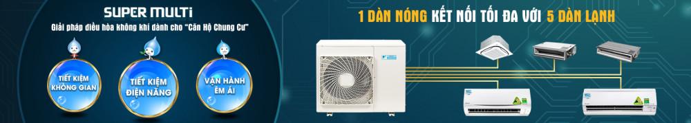 Dàn lạnh giấu trần Multi Daikin FDKS35CAVMB - 1 chiều - 1.5Hp