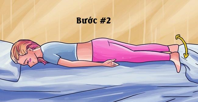 4 bài tập đơn giản giúp bạn ngủ ngon giấc, giảm đau lưng hiệu quả (3)