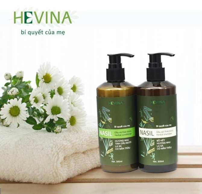 Dầu gội thảo dược Nasil - Hỗ trợ ngăn ngừa rụng tóc hiệu quả