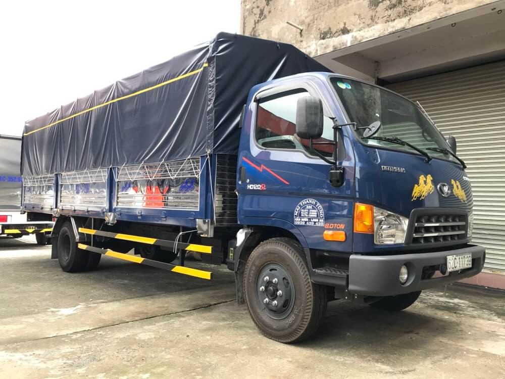 Giá xe tải HD120SL thùng dài 6m2