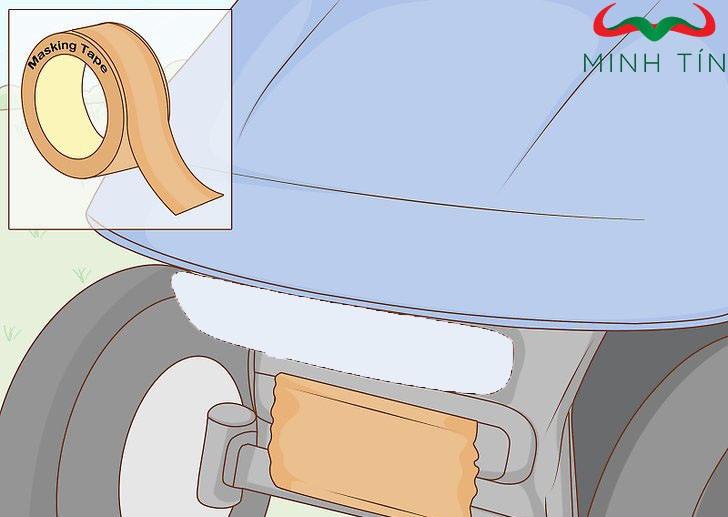 Hướng dẫn cách sơn xe điện sân golf