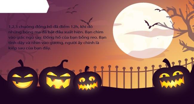 Mới lạ mẫu thiệp mừng Halloween độc đáo dành cho bạn bè và người thân 10