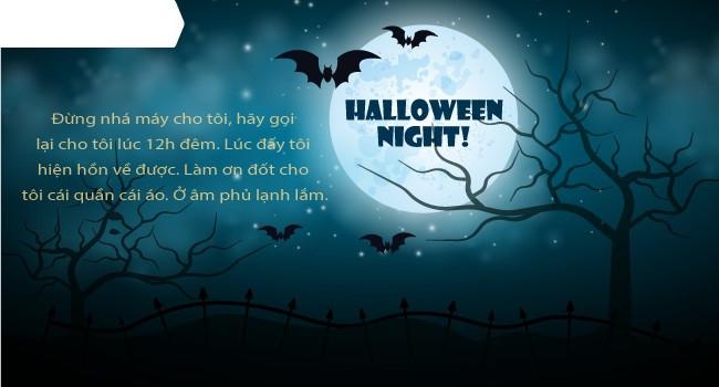 Mới lạ mẫu thiệp mừng Halloween độc đáo dành cho bạn bè và người thân 9
