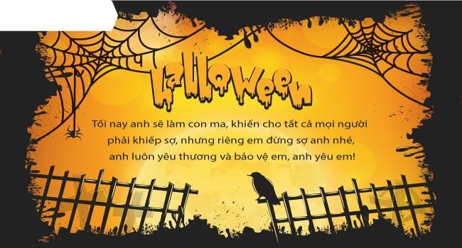 Mới lạ mẫu thiệp mừng Halloween độc đáo dành cho bạn bè và người thân 7