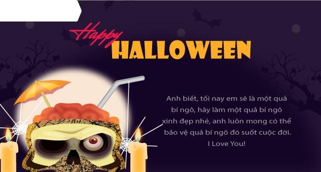 Mới lạ mẫu thiệp mừng Halloween độc đáo dành cho bạn bè và người thân 5