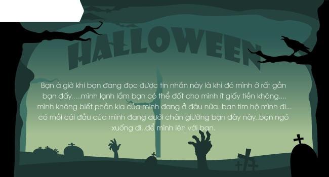 Mới lạ mẫu thiệp mừng Halloween độc đáo dành cho bạn bè và người thân 4